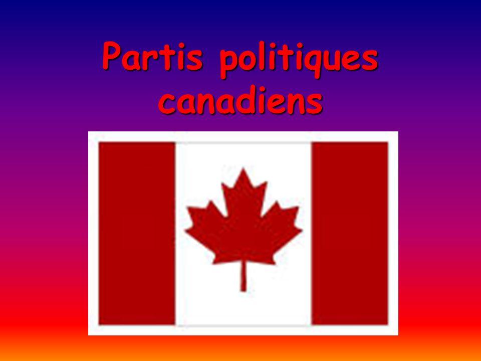 Partis politiques canadiens