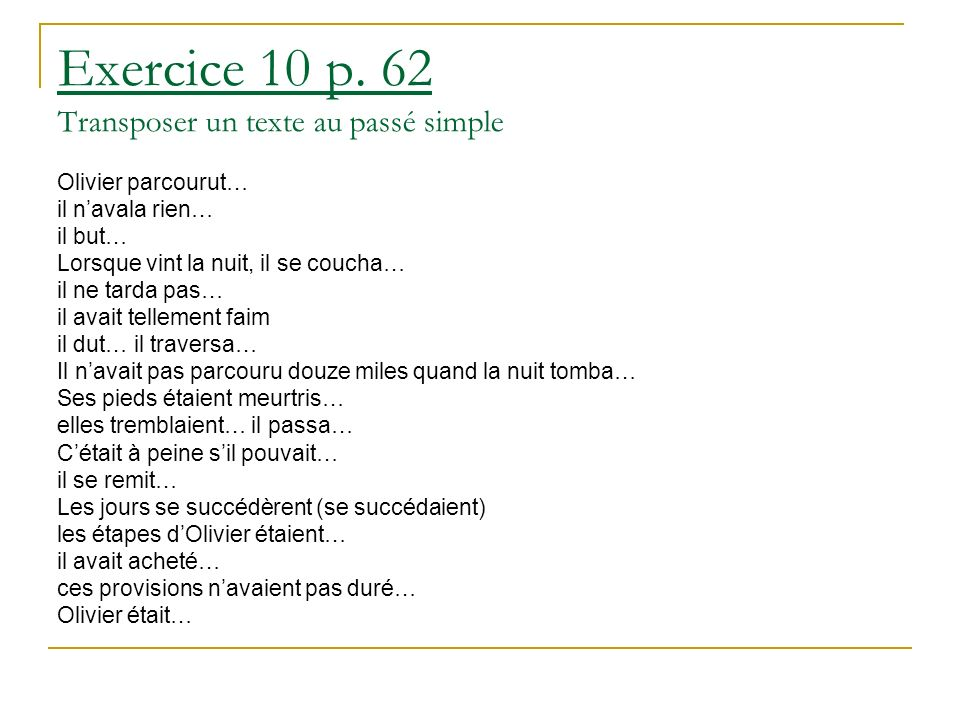 Exercice 10 p.