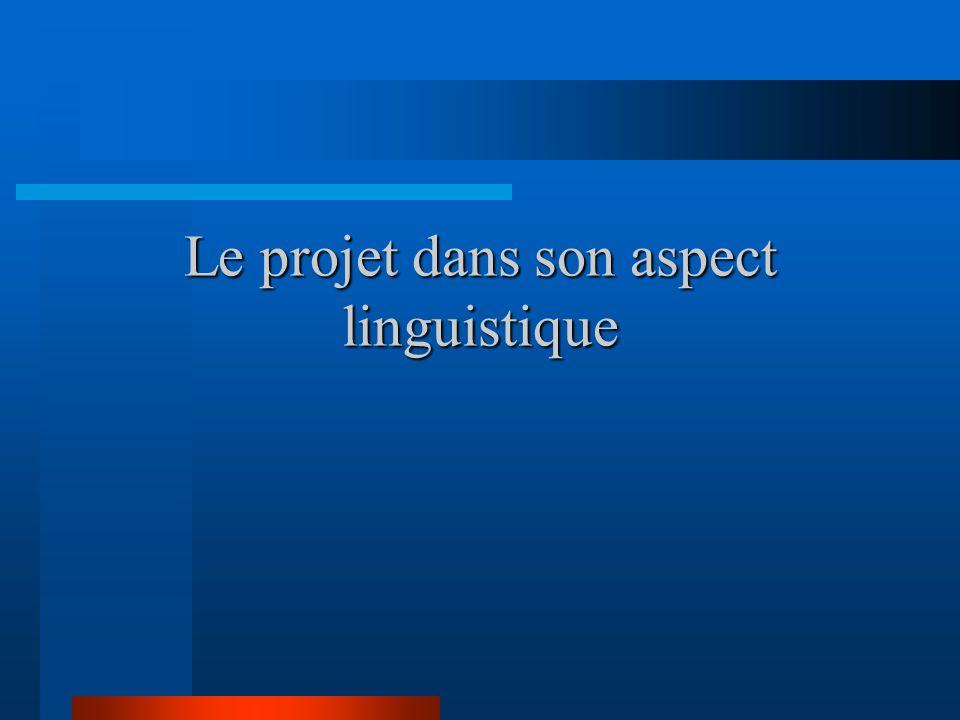 Des sous-produits La rencontre et collaboration entre des chercheurs et des linguistes de divers pays et de différentes langues, en milieux monolingue