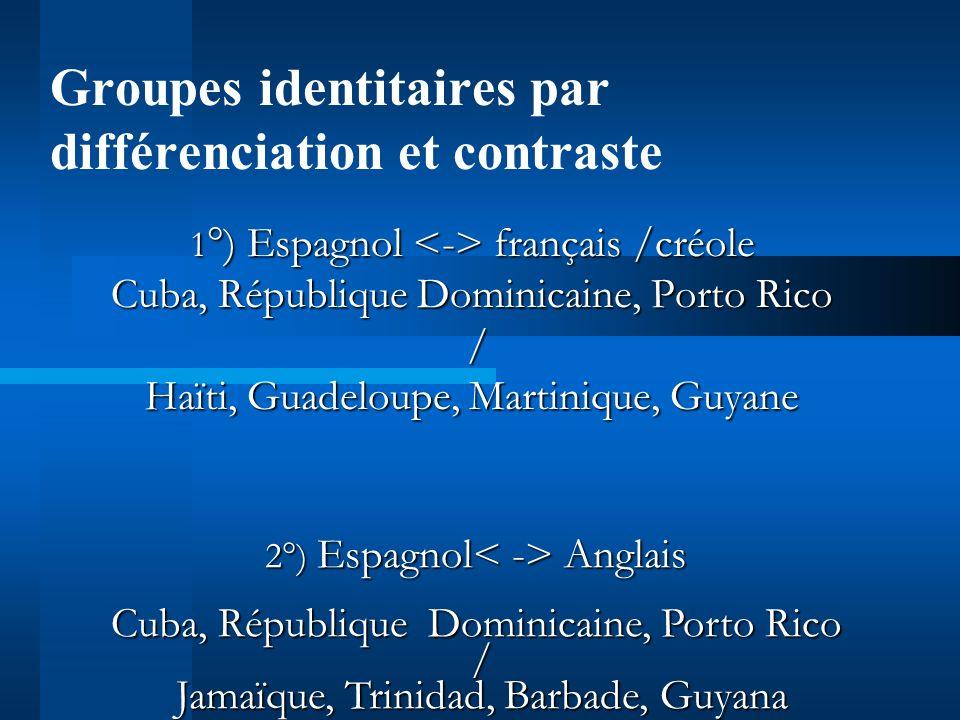 Identification des paramètres culturels : descriptifs des cultures et paramètres identitaires. Identification des paramètres culturels : descriptifs d
