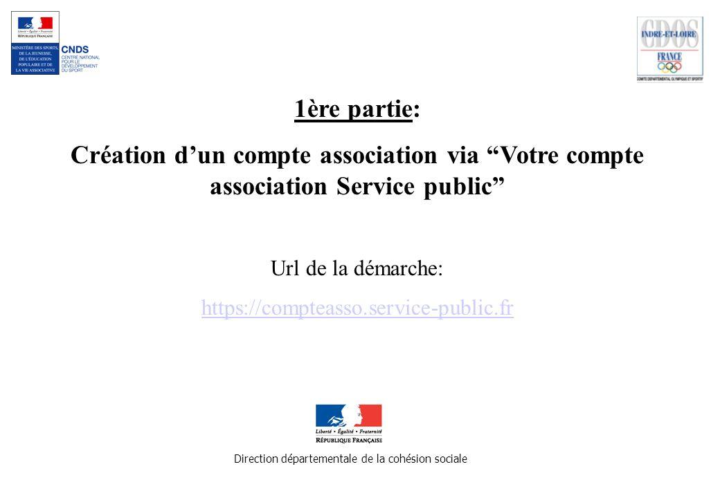 Merci de votre attention Direction départementale de la cohésion sociale