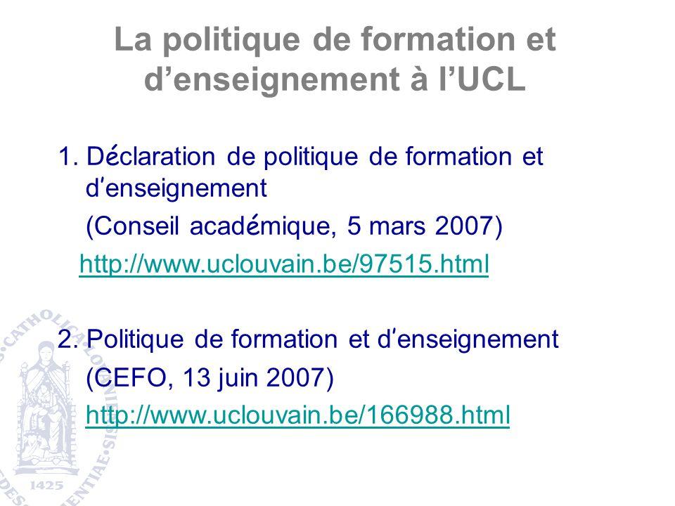 A suivre : impact des projets sur lapprentissage des étudiants : un projet FDP pour 2009 ?
