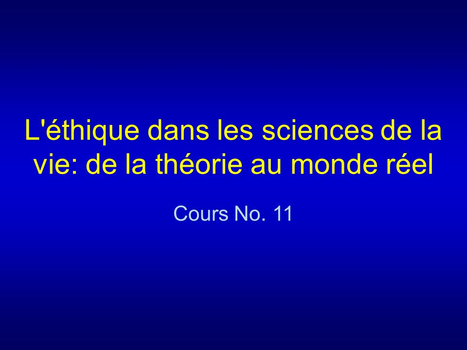 Cours 11 Questions-types 1.