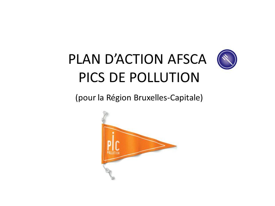 AFSCA (organigramme) 1350 membres de personnel dont 530 travaillent à Bruxelles