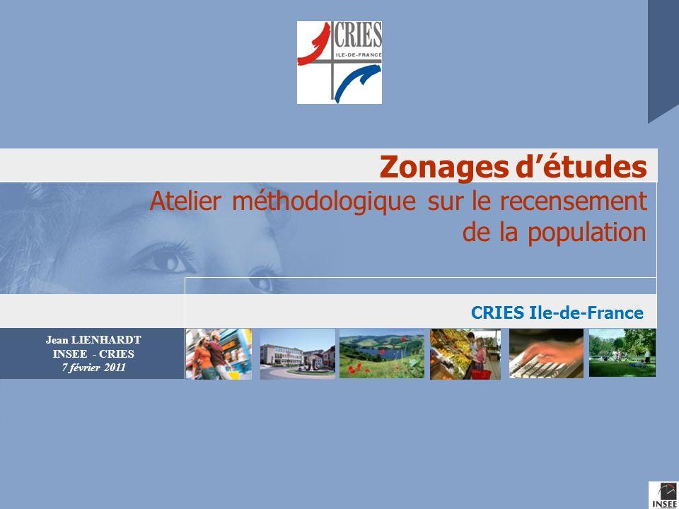 Séance « Zonages» CRIES – 7 février 2011 2010 Introduction : quelques idées ( très ) générales sur les zonages Les deux types de zonages Action-pouvoir & Connaissance-savoir.