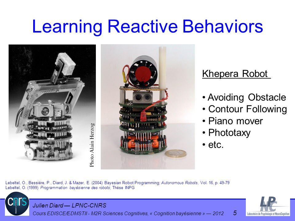 Julien Diard LPNC-CNRS Cours EDISCE/EDMSTII - M2R Sciences Cognitives, « Cognition bayésienne » 2012 56 Plan Résumé + questions .