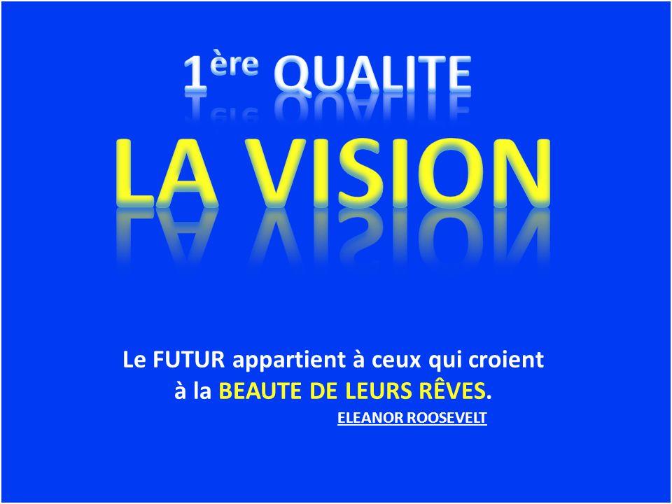Le FUTUR appartient à ceux qui croient à la BEAUTE DE LEURS RÊVES. ELEANOR ROOSEVELT