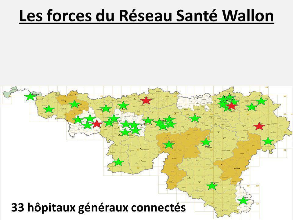 Les forces du Réseau Santé Wallon Les compétences en sécurité informatique ont été validées par un audit externe.