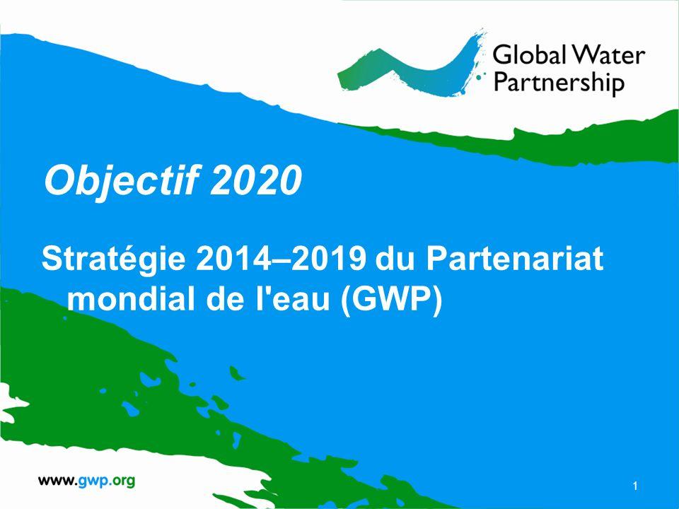 À propos du GWP Vision du GWP : Un monde où la sécurité en eau est assurée Mission du GWP : faire progresser la gouvernance et la gestion des ressources en eau en vue d un développement durable et équitable 2