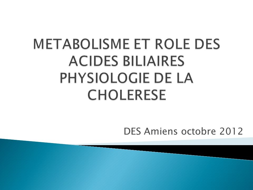 DES Amiens octobre 2012