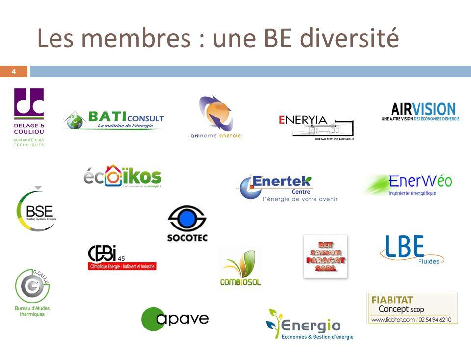 Les membres : une BE diversité 4
