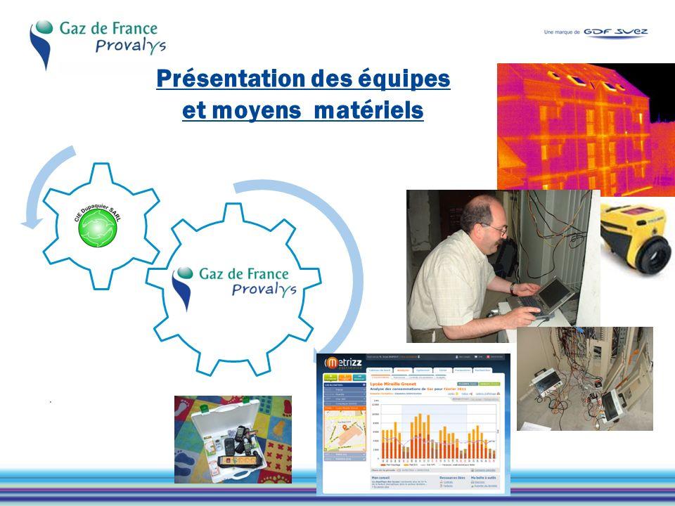 Gaz de France Provalys - Votre interlocuteur au cœur de laccompagnement de votre projet de suivi et danalyse de la performance de vos bâtiments.
