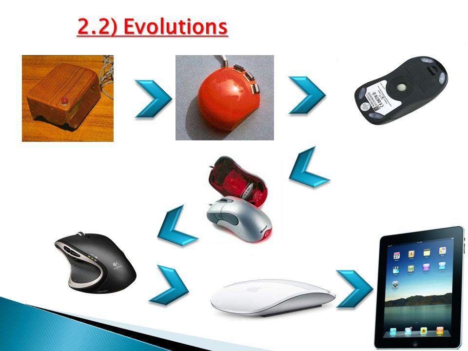 2.2) Evolutions