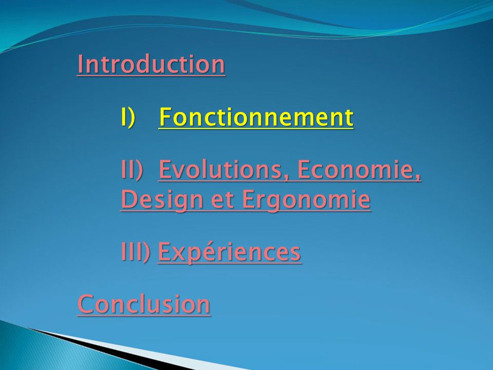 II) Evolutions, Economie, Design et Ergonomie Design et Ergonomie 2.1) Quelques Définitions