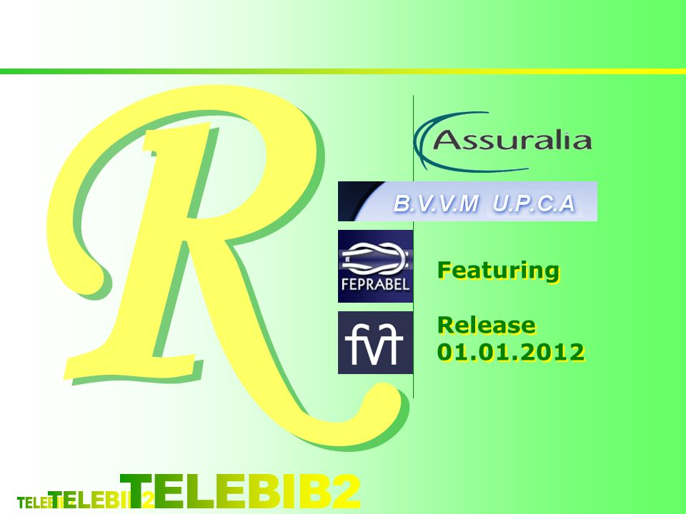 R R Featuring Release 01.01.2012 Featuring Release 01.01.2012