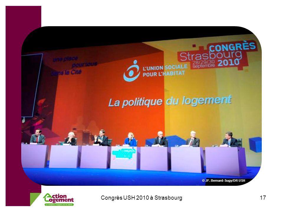 Congrès USH 2010 à Strasbourg17 © JF. Bernard-Sugy/DR USH