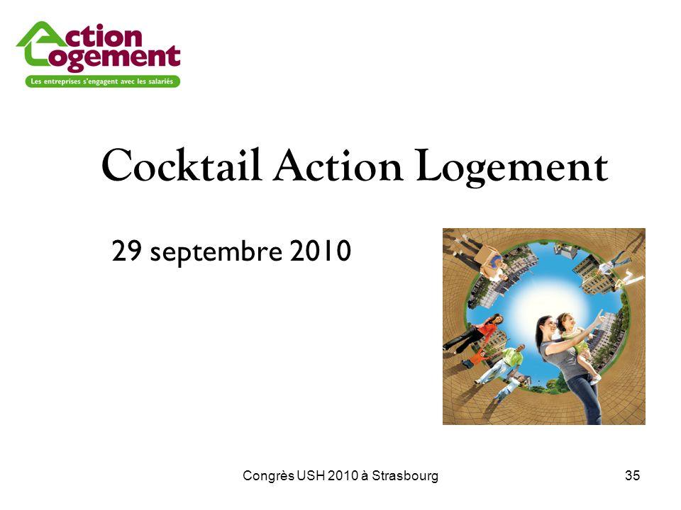 Congrès USH 2010 à Strasbourg35 Cocktail Action Logement 29 septembre 2010