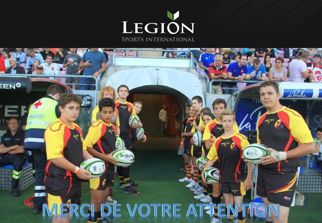 contacts Legion Sports International Geneva Office Tel : +41 (0) 22 575 32 12 Paris Office Tel : +33 (0) 1 42 56 82 23 Huw Francis Head of operations Tel - CH : +41 (0) 79 574 45 98 Tel - FR : +33 (0) 6 80 68 85 86 E-mail : h.francis@legionsi.com www.legionsportsinternational.com