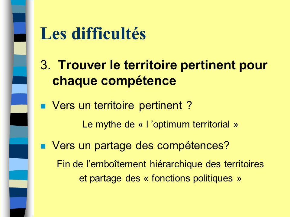 Les difficultés 3.