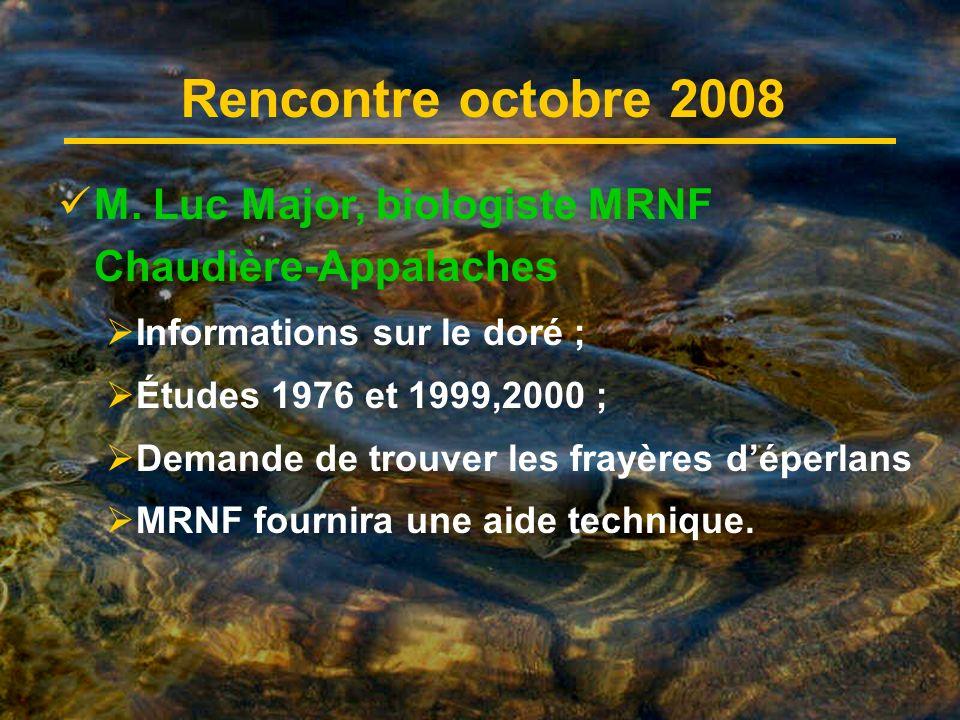 Rencontre octobre 2008 M.