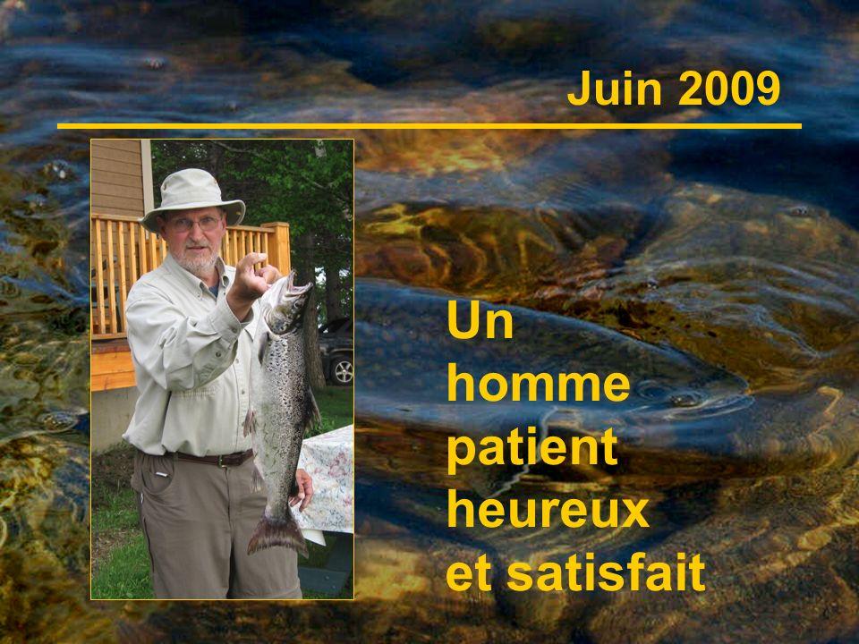 Un homme patient heureux et satisfait Juin 2009