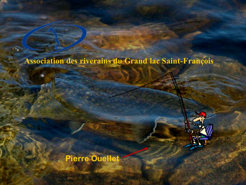 Association des riverains du Grand lac Saint-François Pierre Ouellet