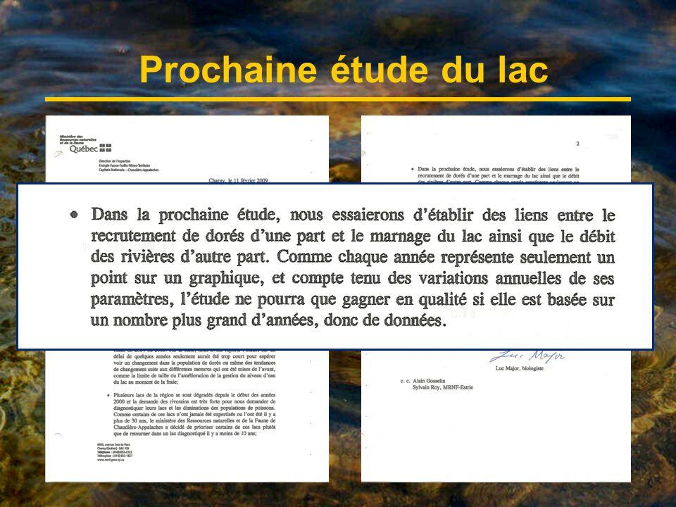 Association des riverains du Grand lac Saint-François Pierre Ouellet