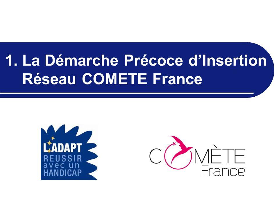 1. La Démarche Précoce dInsertion Réseau COMETE France