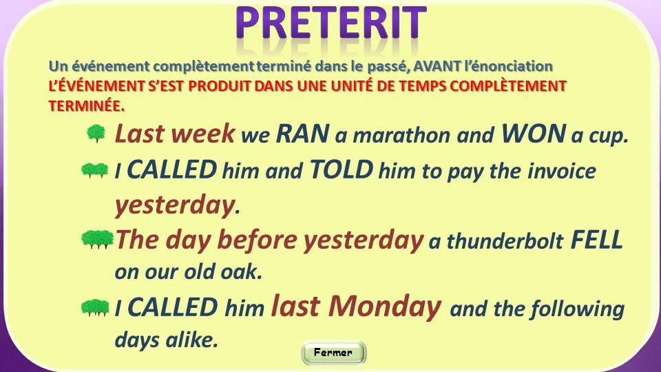 Le bon moment pour le bon passé Le Present perfect « simple » ©SCRIPTURUS stricto sensu Feb.