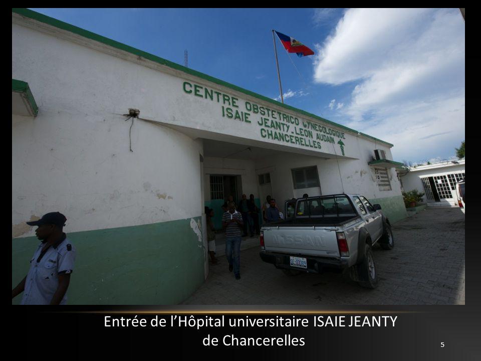 5 Entrée de lHôpital universitaire ISAIE JEANTY de Chancerelles