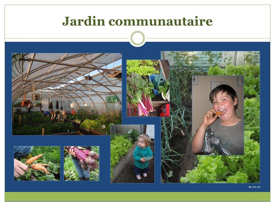 Ellen Avard, 2012 Jardin communautaire Eva Gunn, 2012