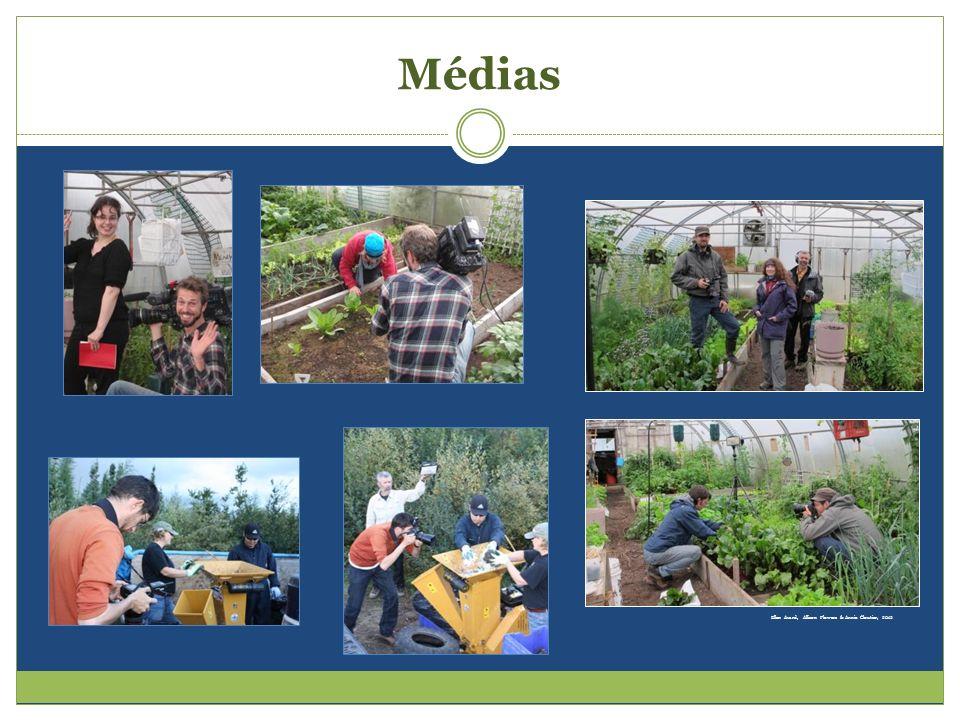 Médias Ellen Avard, Allison Flowers & Annie Cloutier, 2012