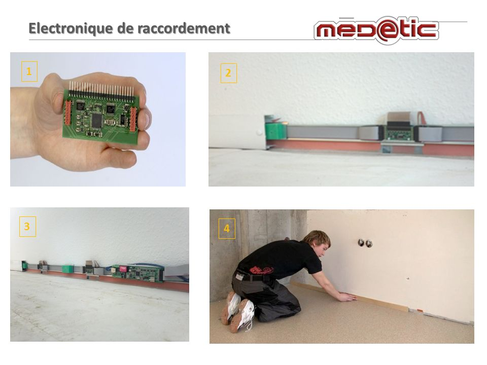 Electronique de raccordement 1 2 3 4