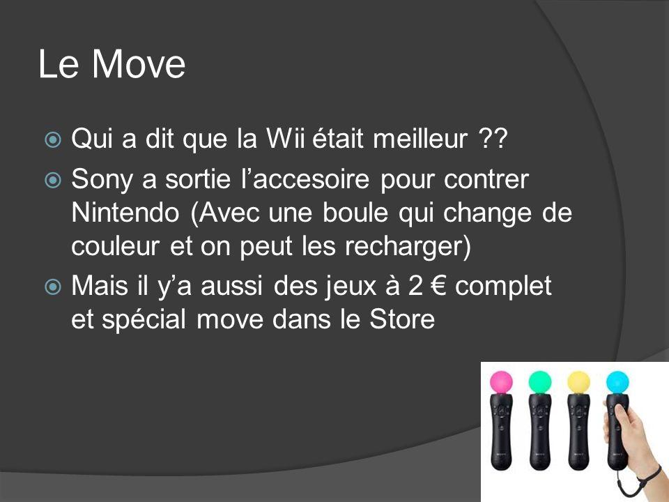 Le Move Qui a dit que la Wii était meilleur ?? Sony a sortie laccesoire pour contrer Nintendo (Avec une boule qui change de couleur et on peut les rec