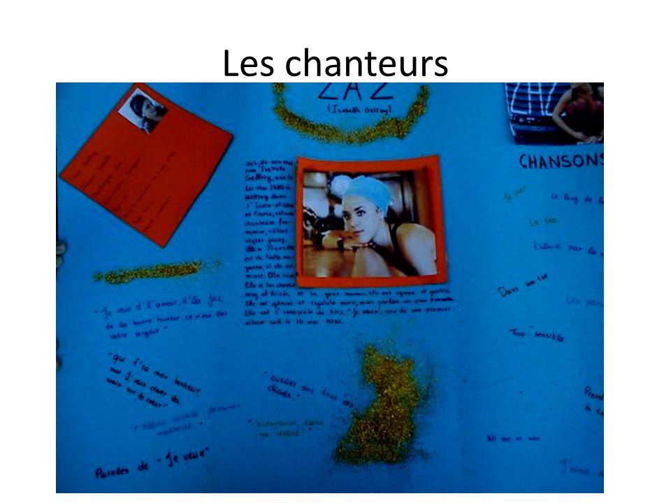 Les élèves préparent une affiche de leur personnalité préférée ETAPES : chercher 0 internet des infos & des photos r2diger un petit paragraphe présenter à ses camarades en classe