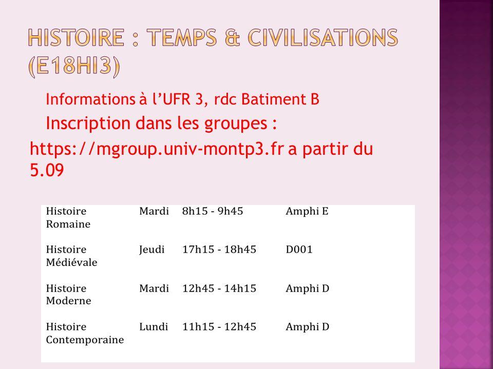Voir informations sur le site : http://www.univ-montp3.fr