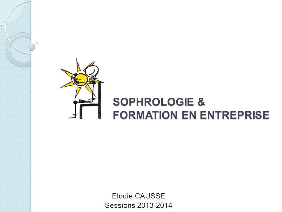 SOPHROLOGIE & FORMATION EN ENTREPRISE Elodie CAUSSE Sessions 2013-2014