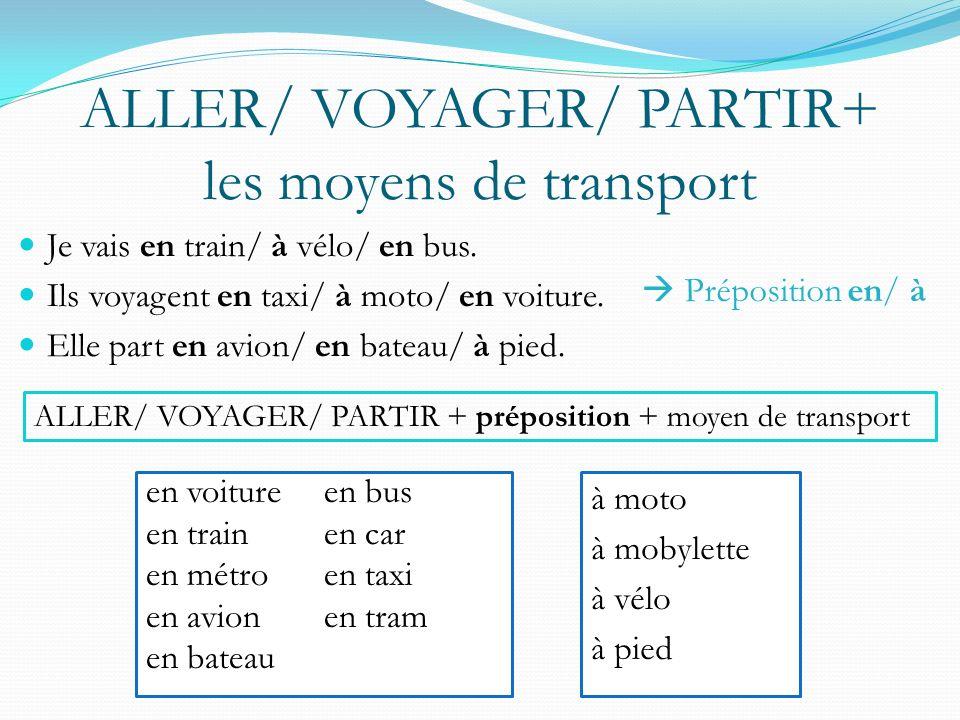p. 340 TGV : Train à grande vitesse Paris-Lyon: 465 km (288 miles) Bloomington- Chicago: 373 km (232 miles)