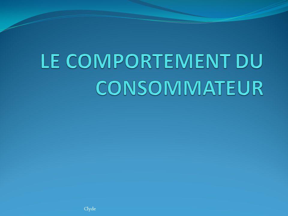 Définition Comportement du consommateur cest la manière dêtre et dagir et de réagir dun consommateur accessible a lobservation extérieur.