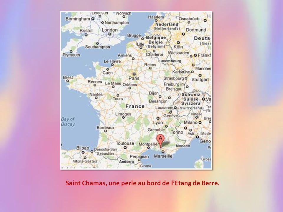 Saint Chamas, une perle au bord de lEtang de Berre.