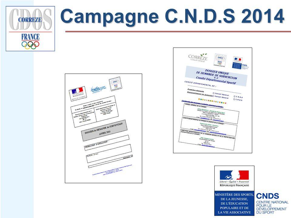 Campagne C.N.D.S 2014