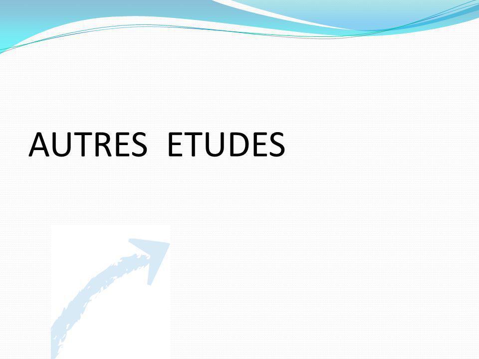 AUTRES ETUDES