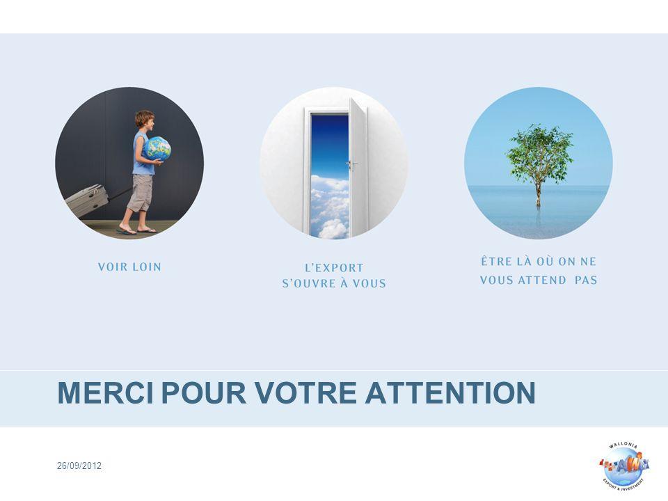 MERCI POUR VOTRE ATTENTION 26/09/2012