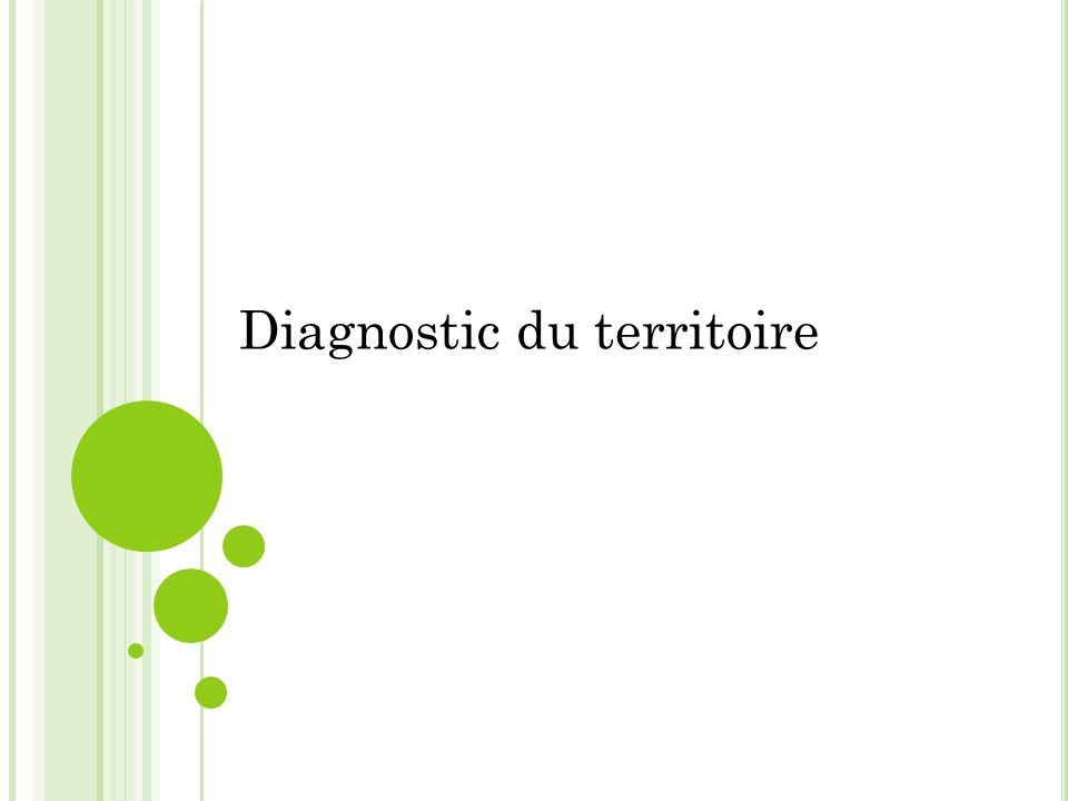 Diagnostic du territoire