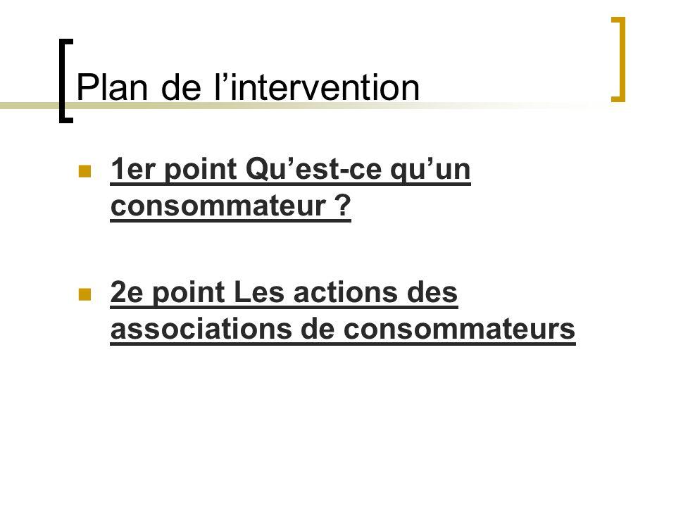 Les actions réservées aux associations agréées 1.