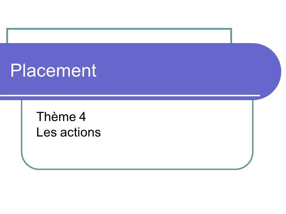 Placement Thème 4 Les actions
