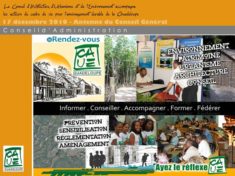Conseil dArchitecture dUrbanisme et de lEnvironnement de la Guadeloupe
