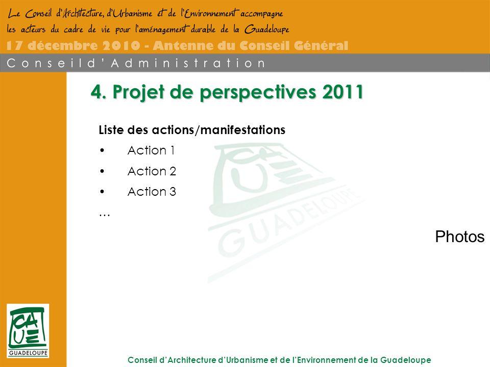 Conseil dArchitecture dUrbanisme et de lEnvironnement de la Guadeloupe 4.