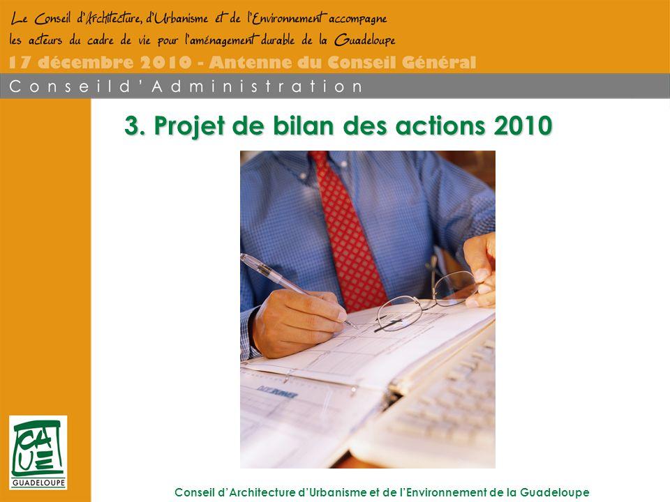Conseil dArchitecture dUrbanisme et de lEnvironnement de la Guadeloupe 3.