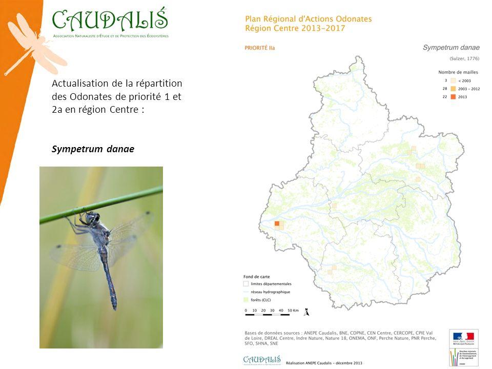 Actualisation de la répartition des Odonates de priorité 1 et 2a en région Centre : Sympetrum danae